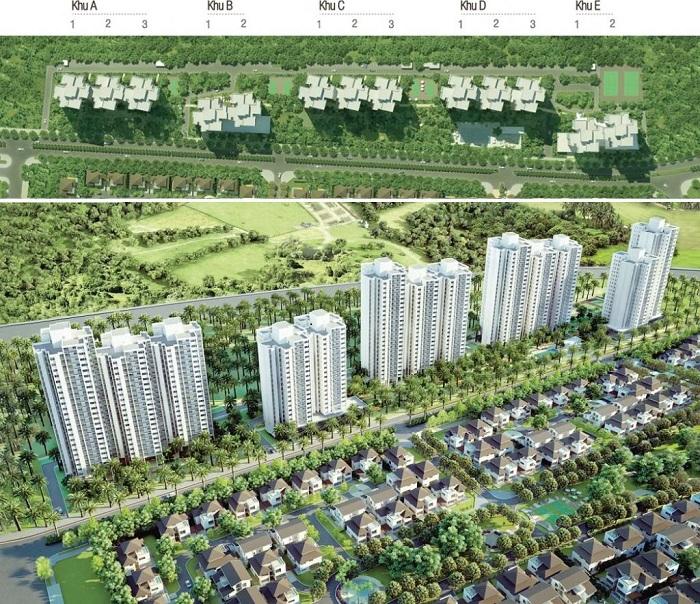 Tổng quan căn hộ chung cư Rừng Cọ Ecopark Văn Giang